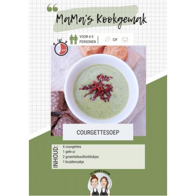 Courgette soep Mama's keuken