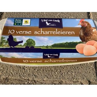 Eieren 10 stuks